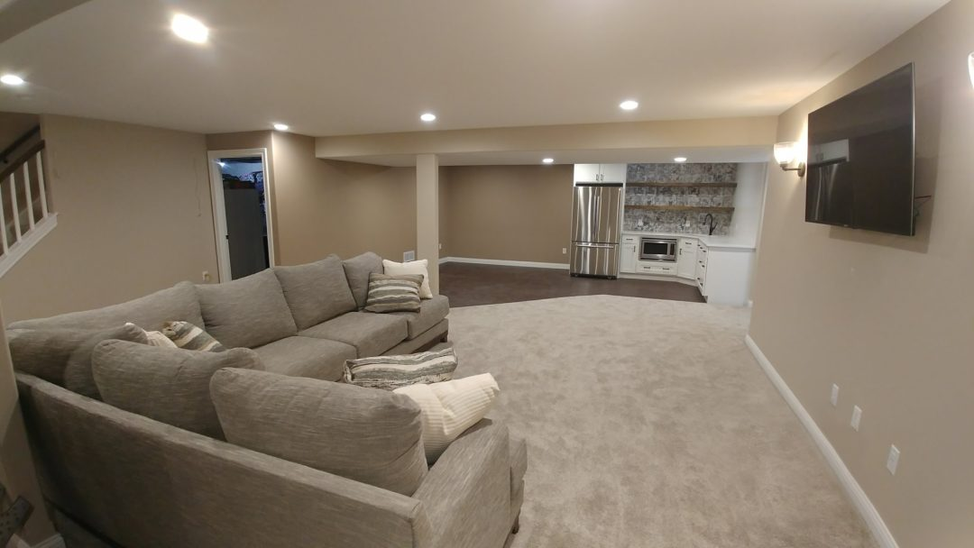 Property ReVision Milwaukee Area Home Remodeling Magnificent Basement Remodeling Milwaukee